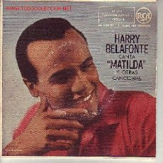 Discos de vinilo: HARRY BELAFONTE DISCO EP. Lote 11582389