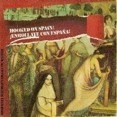 Discos de vinilo: 'HOOKED ON SPAIN! - ENRRÓLLATE CON ESPAÑA'. ORQUESTA SINFÓNICA LIGERA DE MADRID.. Lote 21741903