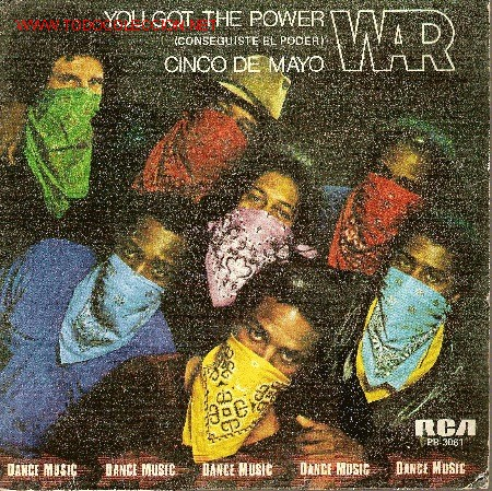 WAR. 'YOU GOT THE POWER'. 1982. (Música - Discos - Singles Vinilo - Funk, Soul y Black Music)