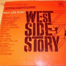 Discos de vinilo: DISCO LP DE LA PELÍCULA - WEST SIDE STORY - NATALIE WOOD, RICHARD BEYMER, ETC. AÑO 1966.. Lote 1860923