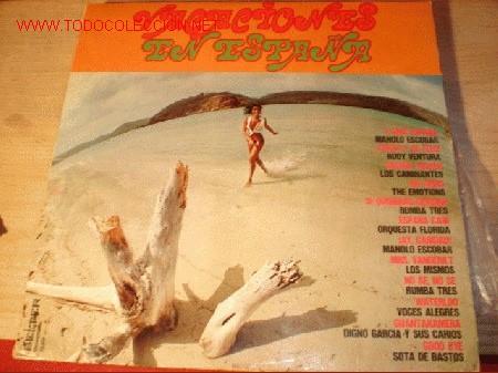 DISCO LP VACACIONES EN ESPAÑA. AÑO 1974. (Música - Discos - LP Vinilo - Orquestas)
