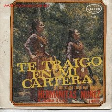 Discos de vinilo: HERMANITAS NUÑEZ . Lote 1861376
