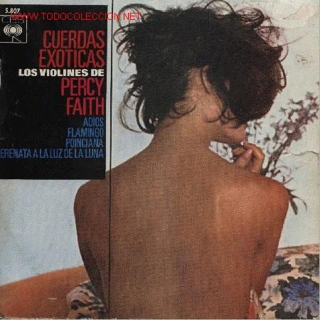 LOS VIOLINES DE PERCY FAITH (Música - Discos de Vinilo - EPs - Otros estilos)