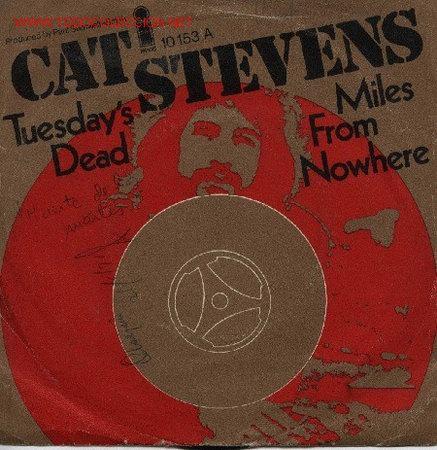 CAT STEVENS (Música - Discos de Vinilo - Singles - Pop - Rock Internacional de los 80)