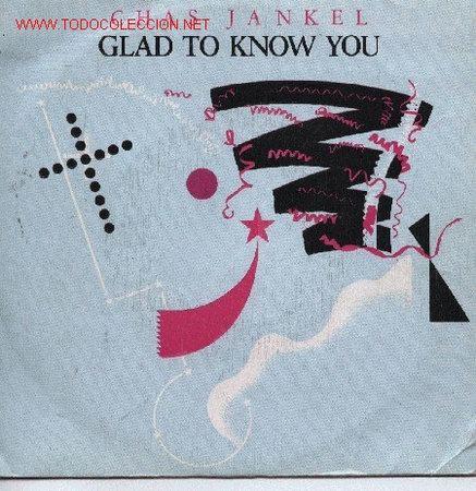 CHAS JANKEL (Música - Discos de Vinilo - Singles - Pop - Rock Internacional de los 80)