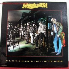 Discos de vinilo: MARILLION ( CLUTCHING AT STRAWS ) 1987-EEC LP33 EMI. Lote 12201520