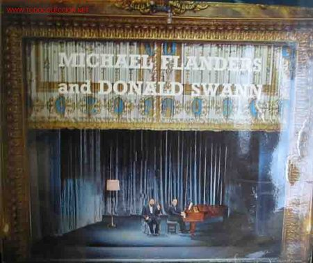 Discos de vinilo: AT THE DROP OF ANOTHER HAT Michael Flanders and Donald Swann - Foto 1 - 23423532