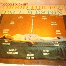 Discos de vinilo: DISCO LP DE MOOD FOR 12 - PAUL WESTON Y SU ORQUESTA - AÑOS 50/60.. Lote 1897827