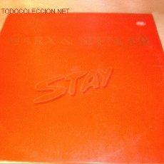Discos de vinilo: DISCO SUPERSINGLE DE MARX & SPENCER - STAY -. AÑO 1983. . Lote 1898434