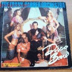 Discos de vinilo: DISCO BOND - THE FRANK BARBER ORCHESTRA - RRT RECORDS 1983 - SIGLE 45 RPM - INCLUYE ALL TIME HIGH DE. Lote 22182207