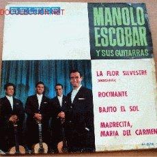Discos de vinilo: MANOLO ESCOBAR Y SUS GUITARRAS - BELTER. Lote 26045932