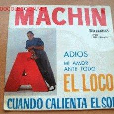 Discos de vinilo: MACHIN - DISCOPHON - 45 RPM. Lote 1899735