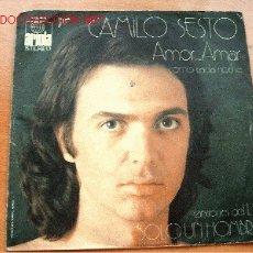 Discos de vinilo: CAMILO SEXTO - ARIOLA - 45 RPM. Lote 25389631