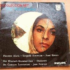 Dischi in vinile: BIZET - DIE PERLENFISCHER (LES PECHEURS DE PERLES) - PHILIPS - 45 RPM -. Lote 2479171