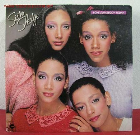 SISTER SLEDGE ( LOVE SOMEBODY TODAY ) 1980 LP33 (Música - Discos - LP Vinilo - Disco y Dance)