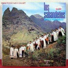 Discos de vinilo: LOS SABANDEÑOS ( ANTOLOGIA DEL FOLKLORE CANARIO VOL. 1 ) LP33. Lote 5132650