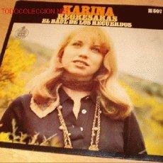 Discos de vinilo: DISCO SINGLE DE KARINA - REGRESARÁS - Y - EL BAÚL DE LOS RECUERDOS -. AÑO 1969.. Lote 1919477