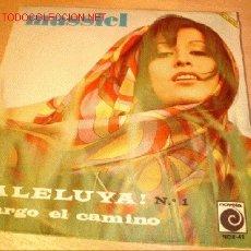 Discos de vinilo: DISCO SINGLE DE MASSIEL - ALELUYA! -. AÑO 1967.. Lote 1919547