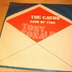 Discos de vinilo: DISCO SINGLE DE TONY RONALDS - THE CARDS -. AÑO 1973.. Lote 1919661