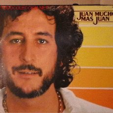 Discos de vinilo: UXV JUAN PARDO - DISCO 33 RPM LP PROMOCIONAL - JUAN MUCHO MAS JUAN - AÑO 1980 HISPAVOX S60.503. Lote 26660749