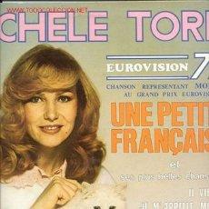 Discos de vinilo: LP 33 RPM / MICHELE TORR / UNE PETITE FRANCAISE / EUROVISION 77// EDITADO POR AZ / MUY BIEN . Lote 12972450