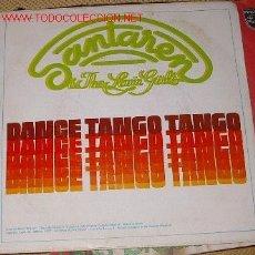 Discos de vinilo: SANTAREN - THE LOVIN' GIRLS - DANCE TANGO TANGO. Lote 7155171