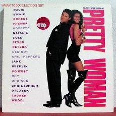 Discos de vinilo: 'PRETTY WOMAN' DAVID BOWIE, ROXETTE, ROY ORBISON, ROBERT PALMER, ... 1990-EEC LP33 EMI. Lote 1953533