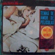 Discos de vinilo: LP-TEMAS DE AMOR DE PELICULAS-LOS ANILLOS DE BRONCE, SOLISTA PHIL BODNER. Lote 21703019