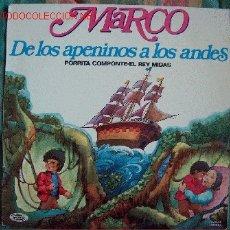 Discos de vinilo: LP-MARCO DE LOS APENINOS A LOS ANDES. Lote 4600466