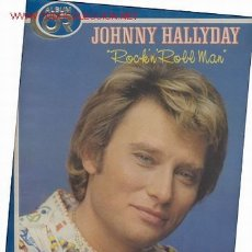 Discos de vinilo: LP PORTADA DOBLE 33 RPM / JOHNNY HALLYDAY / ALBUM OR / ROCK'N' ROLL MAN //EDITADO POR PHILIPS . Lote 25575567
