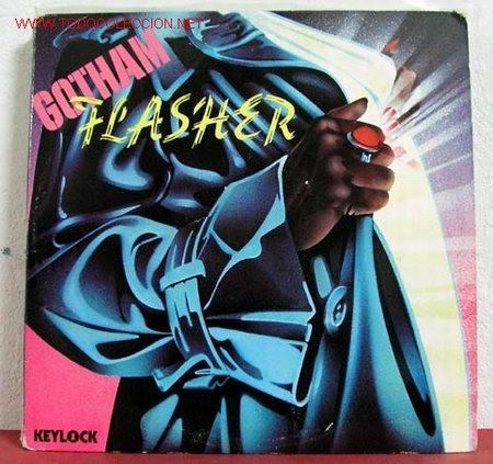 GOTHAM FLASHER ( GOTHAM FLASHER ) DOBLE LP33 USA-1979 KEYLOCK RECORDS (Música - Discos - LP Vinilo - Disco y Dance)