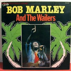 Discos de vinilo: BOB MARLEY AND THE WAILERS (SOUL SHAKE DOWN PARTY, BACK OUT, SOUL CAPTIVES, STOP THE TRAIN..) LP33. Lote 1967734