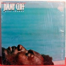 Discos de vinilo: JIMMY CLIFF ( GIVE THANKX ) USA-1978 LP33. Lote 1970180