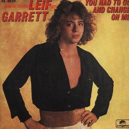 LEIF GARRETT (Música - Discos de Vinilo - EPs - Pop - Rock - New Wave Internacional de los 80)
