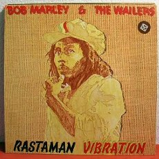 Discos de vinilo: BOB MARLEY & THE WAILERS ( RASTAMAN VIBRATION ) 1976 - GERMANY LP33 ISLAND RECORDS. Lote 1978721