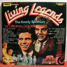 Discos de vinilo: THE EVERLY BROTHERS ( LIVING LEGENDS ) 1972 LP33. Lote 1994792