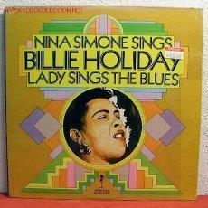 Discos de vinilo: NINA SIMONE ' SINGS BILLIE HOLIDAY LADY SINGS THE BLUES ' NEW YORK-USA 1972 LP STROUD. Lote 1994806