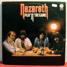 Discos de vinilo: NAZARETH ( PLAY 'N' THE GAME ) 1976 LP33. Lote 1996472
