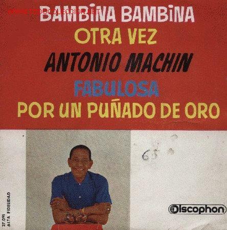 ANTONIO MACHÍN Y SU GRAN ORQUESTA (Música - Discos de Vinilo - EPs - Grupos y Solistas de latinoamérica)