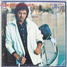 Discos de vinilo: ROBERTO CARLOS LP FIERA HERIDA EN PORTUGUES . Lote 2034227
