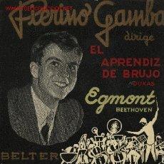 Discos de vinilo: PIERINO GAMBA . Lote 2035880
