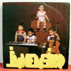 Discos de vinilo: ORQUESTA INMESIDAD ( ALEGRANDO AL MUNDO ) NEW YORK-1987 LP33. Lote 2043764