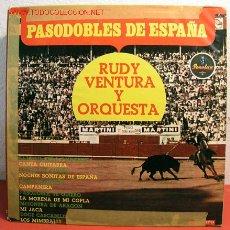 Discos de vinilo: RUDY VENTURA Y SU ORQUESTA ( PASODOBLES DE ESPAÑA ) ESPAÑA LP33. Lote 2705205