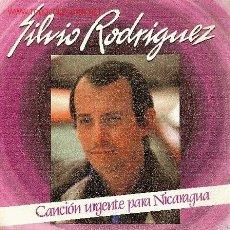 Discos de vinilo: 'CANCIÓN URGENTE PARA NICARAGUA' DE SILVIO RODRÍGUEZ. 1982.. Lote 5413973