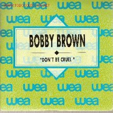 Discos de vinilo: 'DON'T BE CRUEL'. BOBBY BROWN. DISCO PROMOCIONAL. RARO.. Lote 21619876