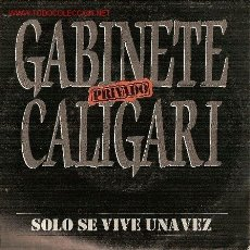 Discos de vinilo: 'SÓLO SE VIVE UNA VEZ'. GABINETE CALIGARI.. Lote 21619878