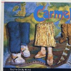 Discos de vinilo: CARMEL. Lote 2049055