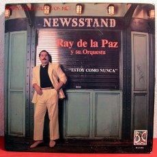 Discos de vinilo: RAY DE LA PAZ Y SU ORQUESTA ( ESTOY COMO NUNCA ) NEW YORK LP33. Lote 155423333