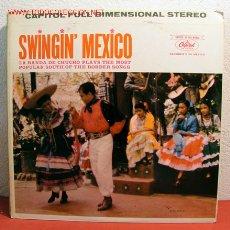 Discos de vinilo: LA BANDA DE CHUCHO ( SWINGIN' MEXICO ) USA LP33. Lote 2053468