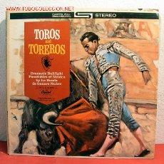 Discos de vinilo: LA BANDA DE GENARO NUÑEZ ''PASODOBLES OF MEXICO'' ( TOROS AND TOROS ) USA LP33. Lote 2053494
